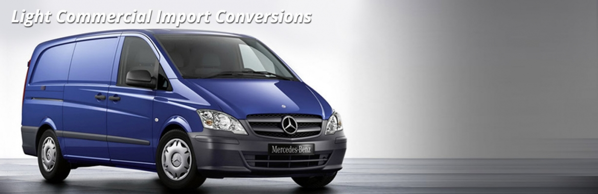 Light Commercial Import Conversions